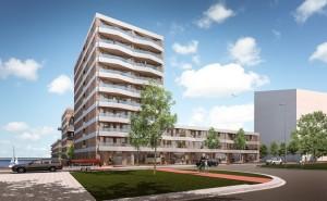 Blok 54 IJburg te Amsterdam